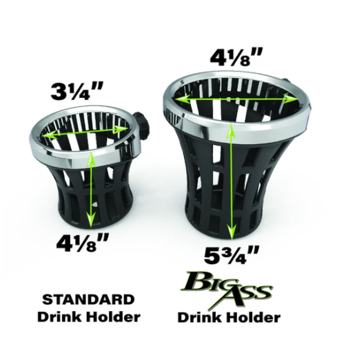 BIG ASS® DRINK HOLDER WITH PERCH MOUNT