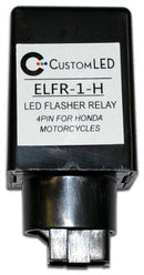 ELFR-1-H Electronic LED Flasher Relay 4-Pin Honda