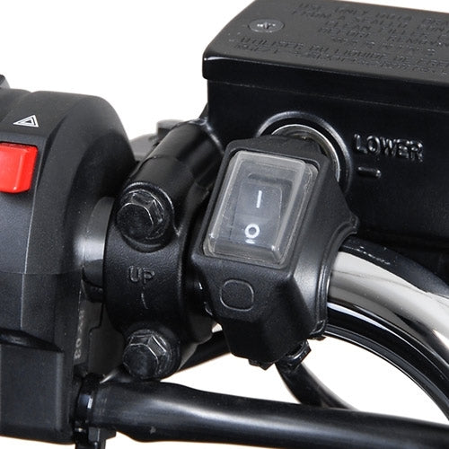 SW Motech-Cockpit Switch - waterproof handlebar mount ON/OFF - 30cm