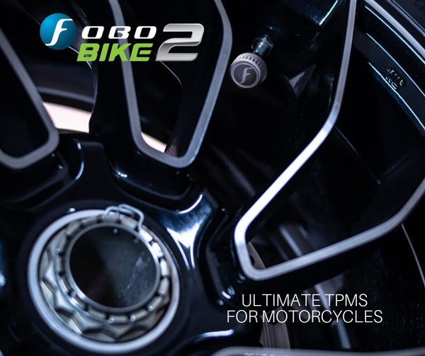 FOBO BIKE 2-Truly Bluetooth 5 TPMS For Motorcycles