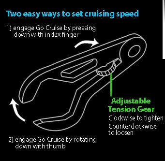 Go Cruise Universal Throttle Lock
