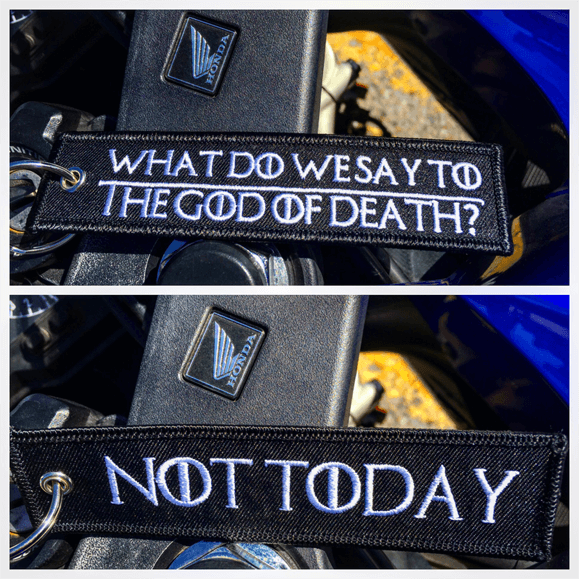 God of Death - Motorcycle Keychain