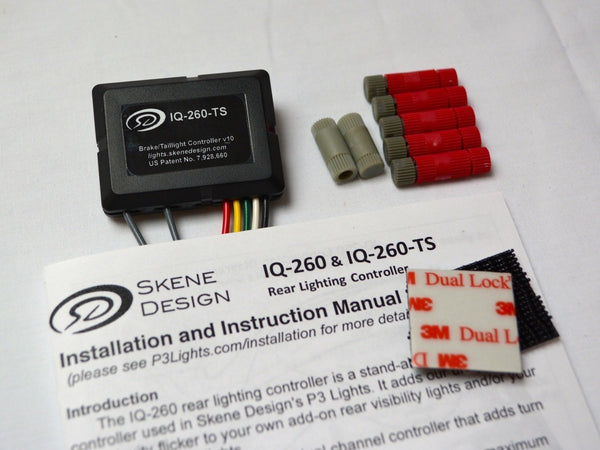 Skene IQ-260-TS Tail/Brake Light Controller with Turn Signals
