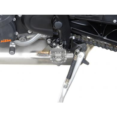 SW-MOTECH ION Dual Position Foot Peg Kit for many models including KTM 1090 Adventure R, 1190 Adventure / R & 1290 Super Adventure / R / S / T