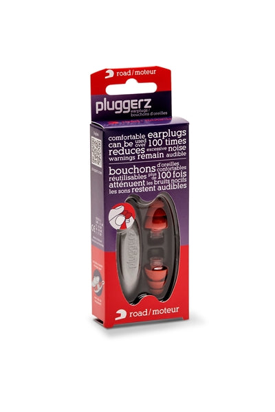 Pluggerz Uni-Fit Road Attentuation Ear Plugs