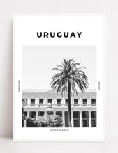Load image into Gallery viewer, Uruguay 'Montevideo Palms' Print