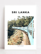 Load image into Gallery viewer, Sri Lanka 'Train To Ella' Print