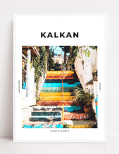 Load image into Gallery viewer, Kalkan 'Step By Colourful Step' Print