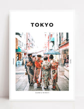 Load image into Gallery viewer, Tokyo 'In Kimonos' Print