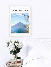 Load image into Gallery viewer, Lake Atitlan 'The Most Peaceful Place On Earth' Print