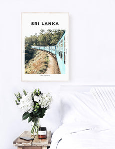 Sri Lanka 'Train To Ella' Print