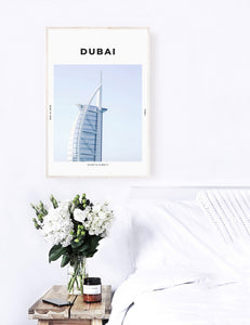 Dubai 'The Big Sail' Print