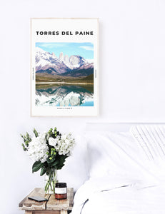 Torres Del Paine 'Mountains That Soar' Print