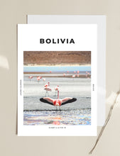 Load image into Gallery viewer, Bolivia 'Free As A Flamingo' Print