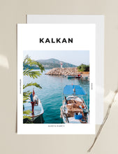 Load image into Gallery viewer, Kalkan 'Breakfast By The Lighthouse' Print