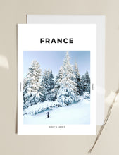 Load image into Gallery viewer, France 'The Slopes Are Calling' Print
