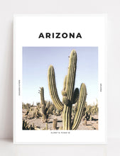 Load image into Gallery viewer, Arizona 'Cactus County' Print