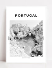 Load image into Gallery viewer, Portugal 'The Blue Lagoon' Print