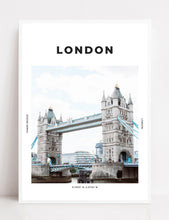 Load image into Gallery viewer, London 'Tall As Tower Bridge' Print