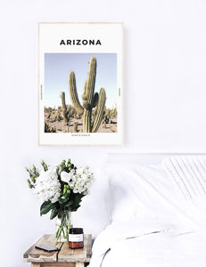 Arizona 'Cactus County' Print