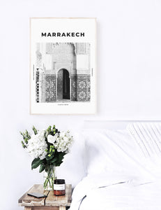 Marrakech 'Daughter Of The Desert' Print