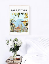 Load image into Gallery viewer, Lake Atitlan 'Volcan San Pedro' Print