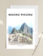 Load image into Gallery viewer, Machu Picchu 'King Of The Mountains' Print
