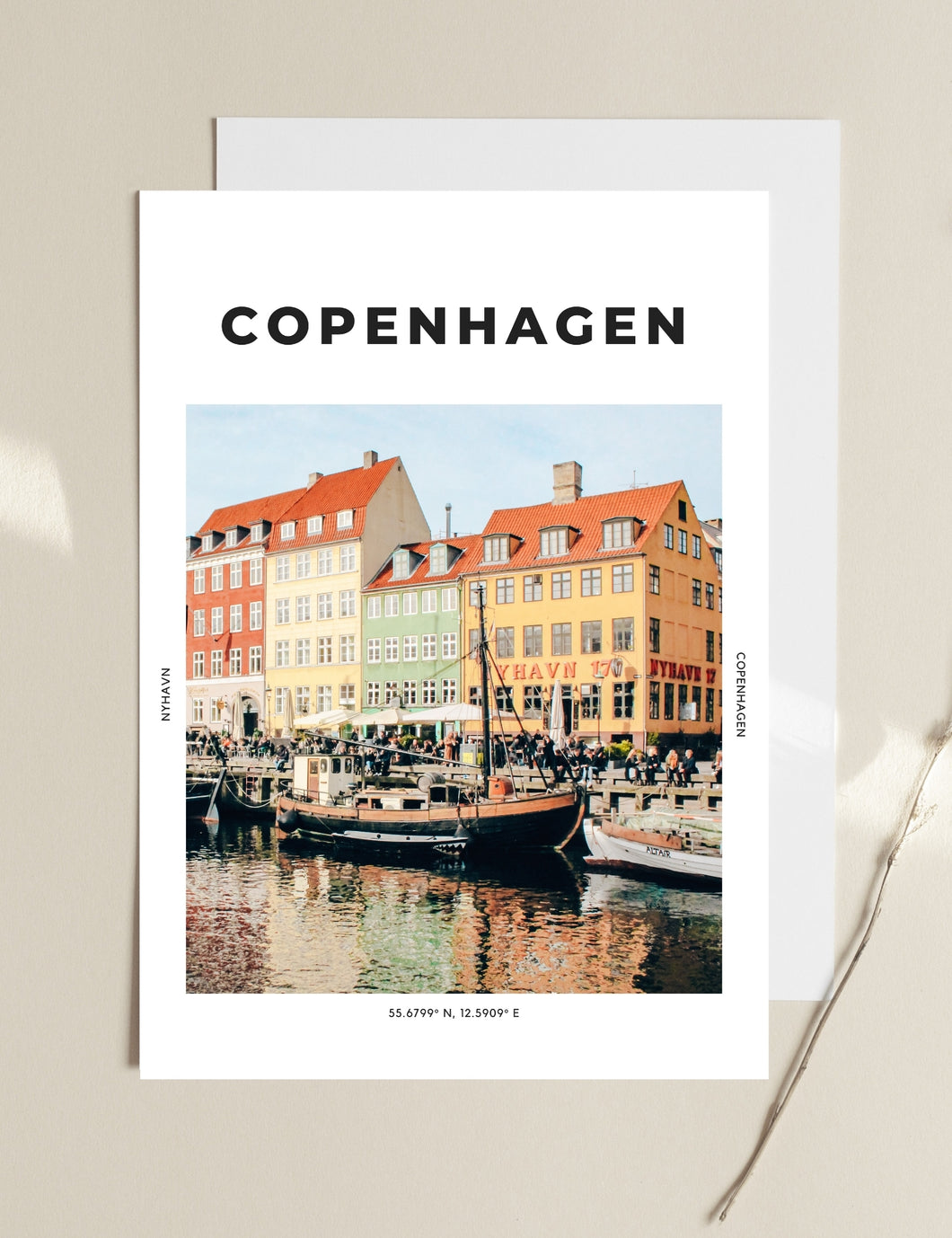 Copenhagen 'North Of Nyhavn' Print