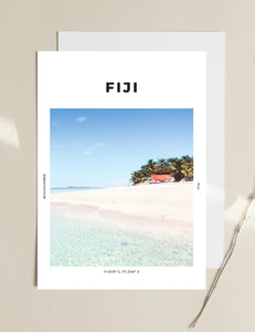 Fiji 'Beachcomber Bliss' Print