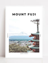 Load image into Gallery viewer, Mount Fuji 'Land Of The Rising Sun' Print