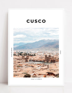 Cusco 'Magical Ciudad' Print