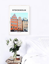 Load image into Gallery viewer, Stockholm 'Sweden's Empire' Print