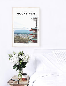 Mount Fuji 'Land Of The Rising Sun' Print