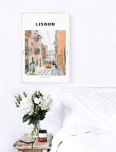 Load image into Gallery viewer, Lisbon 'Lisboa Tram' Print