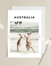 Load image into Gallery viewer, Australia 'Naked Kangaroos' Print