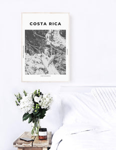 Costa Rica 'A Little Parrot Told Me' Print