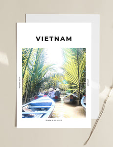 Vietnam 'Morning At Mekong Delta' Print