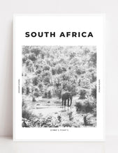 Load image into Gallery viewer, South Africa 'Welcome To The Jungle' Print