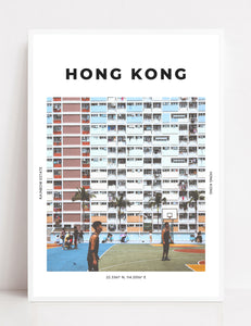 Hong Kong 'Rainbow Estate' Print