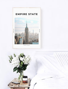 Empire State 'King Of New York' Print