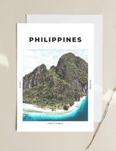 Load image into Gallery viewer, Philippines 'Heaven On Earth' Print