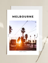 Load image into Gallery viewer, Melbourne 'St Kilda Sundown' Print