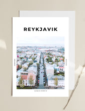 Load image into Gallery viewer, Reykjavik 'Heart Of Iceland' Print