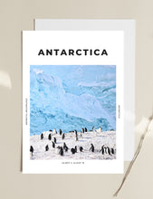 Load image into Gallery viewer, Antarctica 'Antarctic Penguins' Print