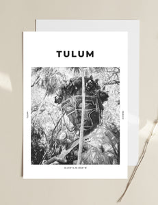 Tulum 'Say Hello To Tree Lady' Print