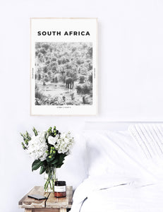 South Africa 'Welcome To The Jungle' Print