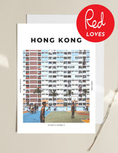 Load image into Gallery viewer, Hong Kong 'Rainbow Estate' Print