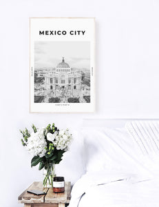 Mexico City 'Golden Opportunity' Print