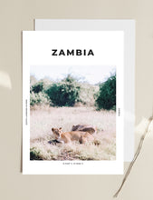 Load image into Gallery viewer, Zambia 'Into Nala's Lion Den' Print