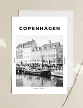 Load image into Gallery viewer, Copenhagen 'North Of Nyhavn' Print